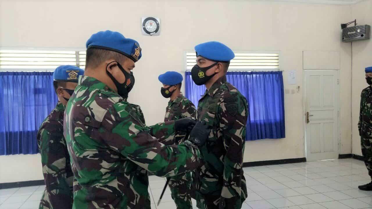 Penutupan Pendidikan Suspa Lidkrimpamfik Pomau Angkatan ke-5 Dan Suspa Idik Pomau Angkatan ke-7 di Skadik 405 Lanud Adi Soemarmo