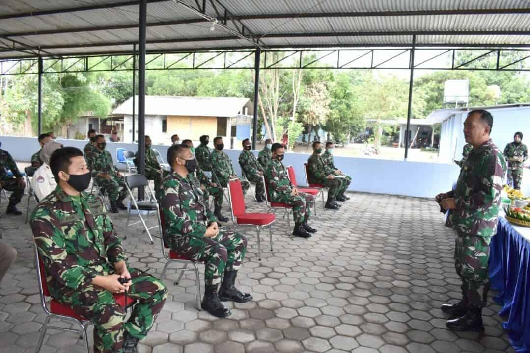 Lengkapi Fasilitas Kantor Pendaftaran Prajurit, Danlanud Adisutjipto resmikan shelter Binpers