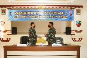 Exit Briefing Wasrikkap Itkoopsau 1 di Lanud BNY