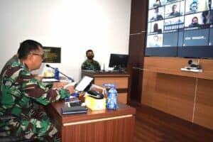 Danlanud Adisutjipto pimpin sidang online penjurusan Siswa Sekbang Angkatan 98