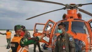 Lanud Sugiri Sukani Majalengka Beri Dukungan Operasi Penerbangan Untuk Crew Pesawat Basarnas