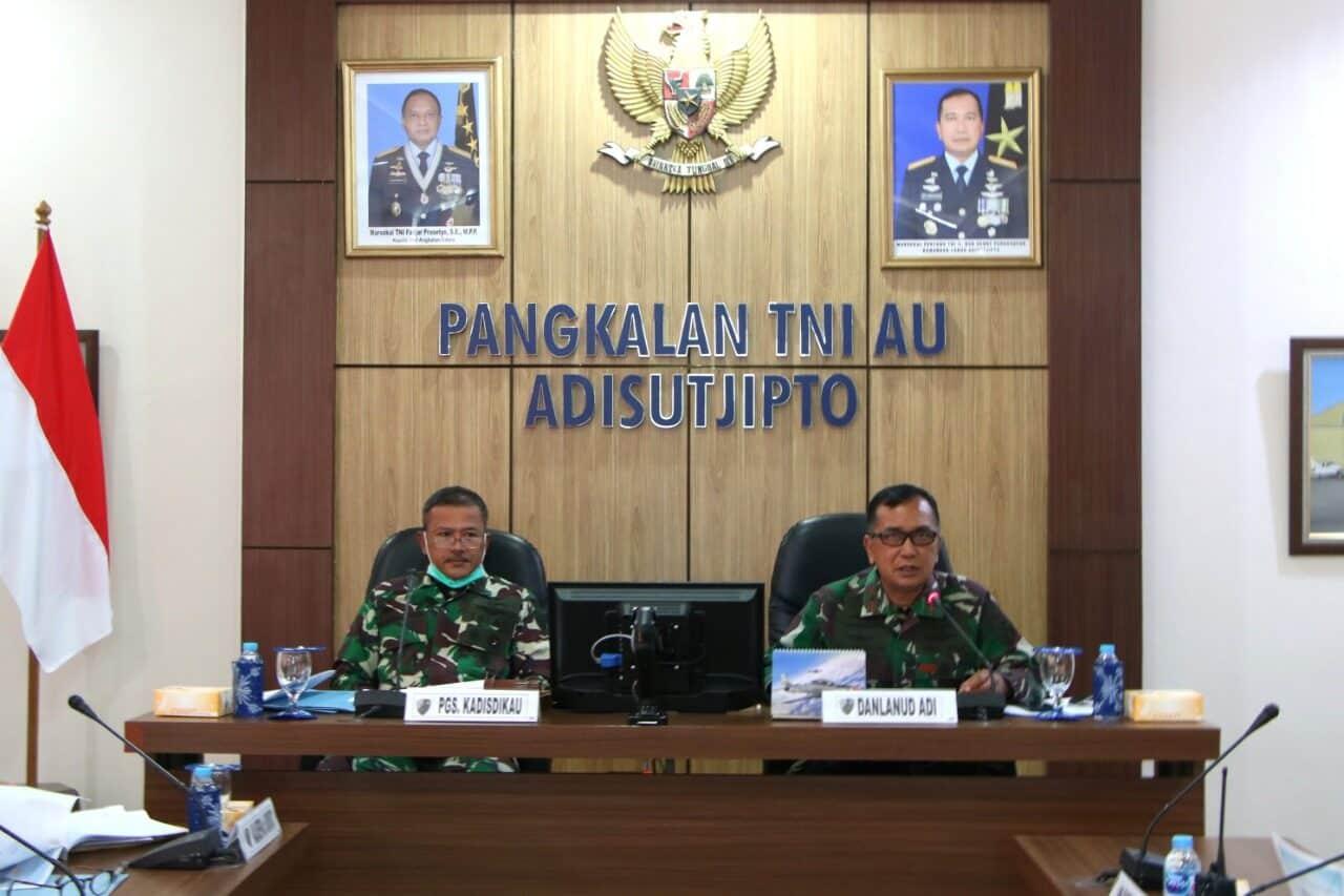 Sidang Pantukhir Siswa Sesarcab Penerbang A-99 Terpadu dan PTTA A-3 Dilaksanakan di Lanud Adisutjipto