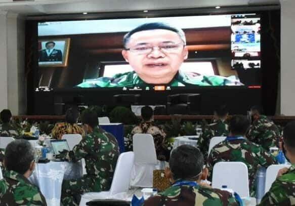 Webinar HUT-57 Koharmatau, Kasau : Loncatan Teknologi Militer Ubah Taktik Pertempuran Masa Depan