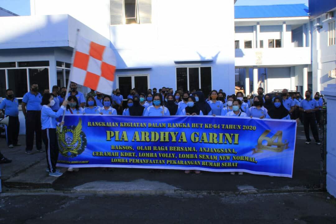 *Pangkalan TNI Angkatan Udara Sam Ratulangi Semarakkan HUT PIA AG ke-64*