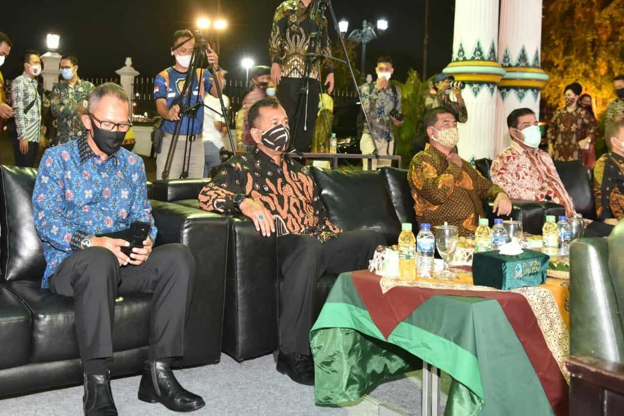 Danlanud Adisutjipto Hadiri Festival Karawitan Internasional di Keraton Yogyakarta