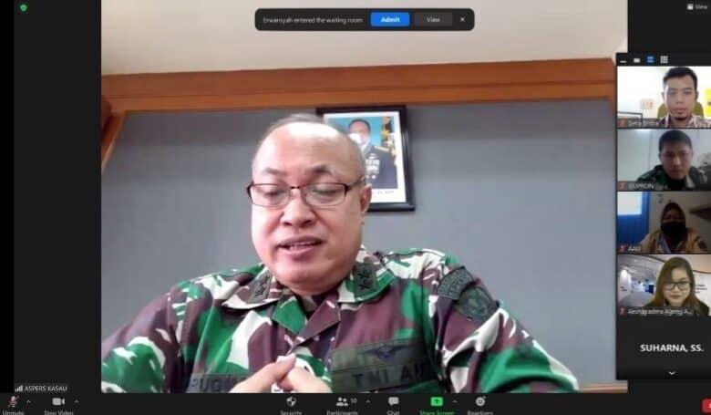 Tingkatkan Kerja Sama dengan British Council, TNI AU Buka Pelatihan General English Self Acces