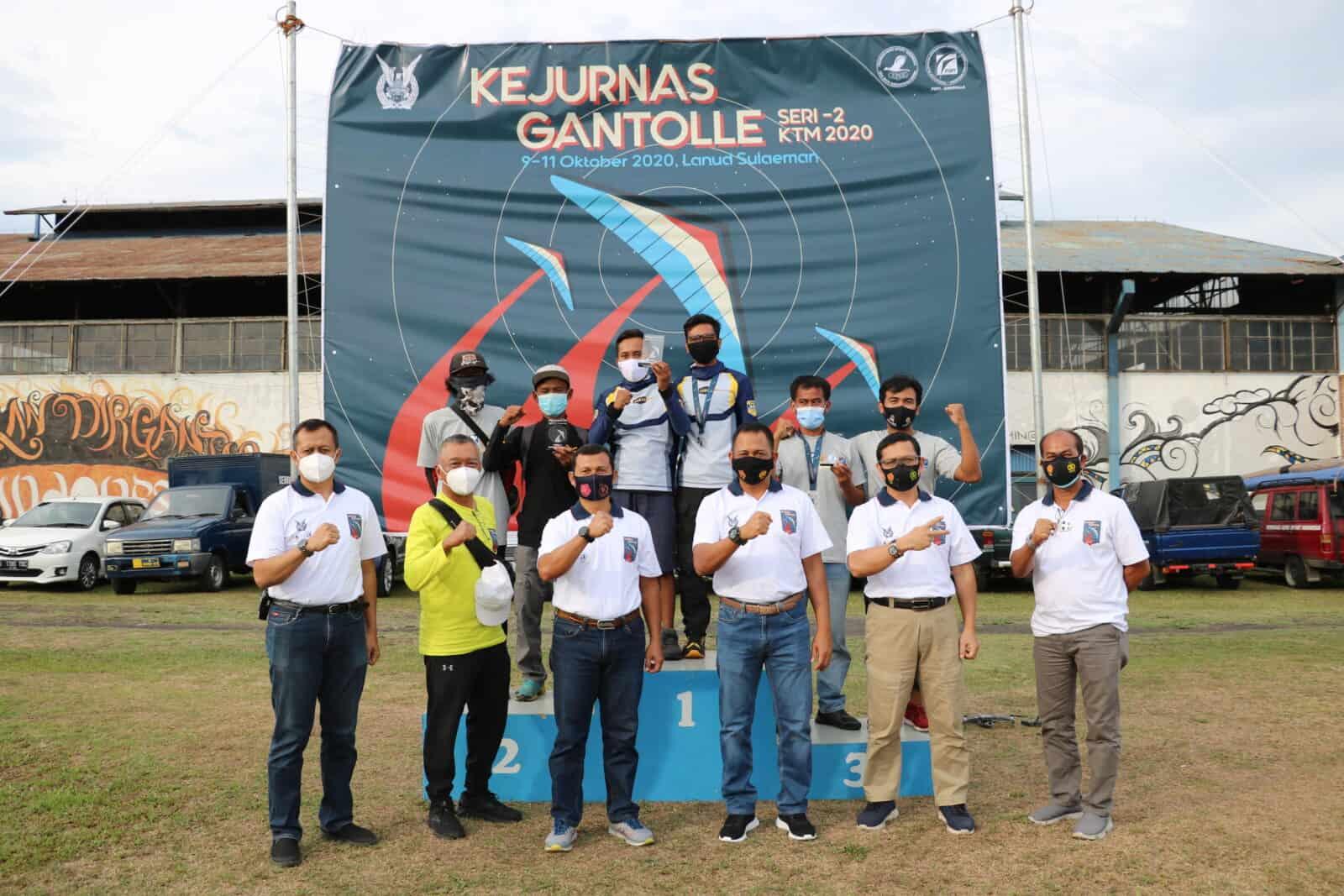 Penutupan Kejurnas Gantolle Seri-2 KTM 2020 di Lanud Sulaiman