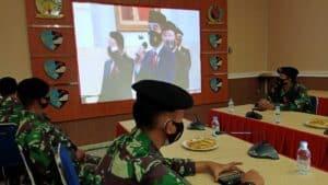 Kosekhanudnas II Peringati HUT Ke-75 TNI Secara Virtual