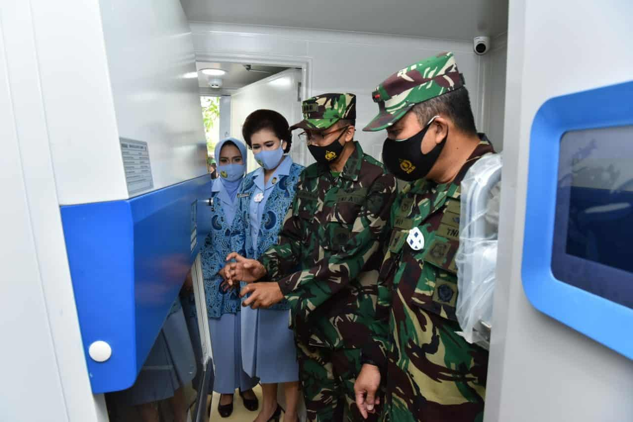 RSAU DR. Efram Harsana Lanud Iswahjudi Miliki Laboratorium PCR Sendiri