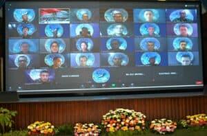 Secara Virtual, Pasis Sesau A-14 Menyelenggarakan KKDN