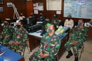 Prajurit dan PNS Lanud Iswahjudi Ikuti Peringatan Hari Kesaktian Pancasila Secara Virtual