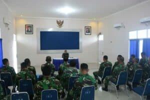 Komandan Lanud Iskandar Laksana Entry Briefing