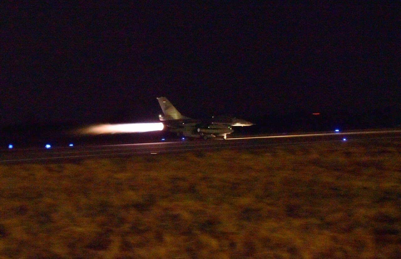 Fighters Lanud Iswahjudi Sukses Menyelesaikan Misi Operasi Udara Malam Hari