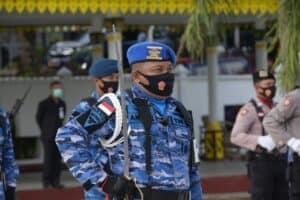Danlanud RHF Ikuti Ziarah Nasional Dalam Rangka HUT ke 75 TNI Tahun 2020
