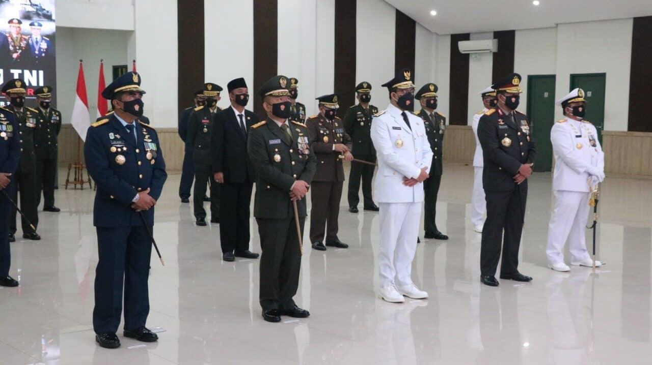 Koopsau I Peringati HUT ke-75 TNI Di Istana Negara Secara Virtual