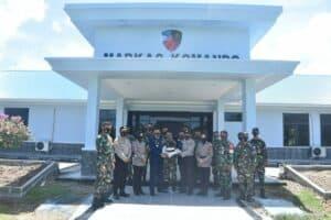 HUT TNI ke-75 Danlanud Mus Dapat Kejutan Kue Dari Kapolres Sabang.