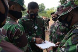 Latihan Menembak Triwulan ke-III, Prajurit Lanud RHF Berlomba Jadi Yang Terbaik