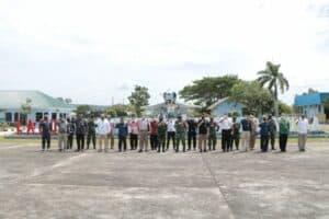 Sosialisasi Pembinaan Pengawasan Wilayah Udara (Binwaswilud) TA. 2020 di Lanud Sultan Iskandar Muda, Aceh