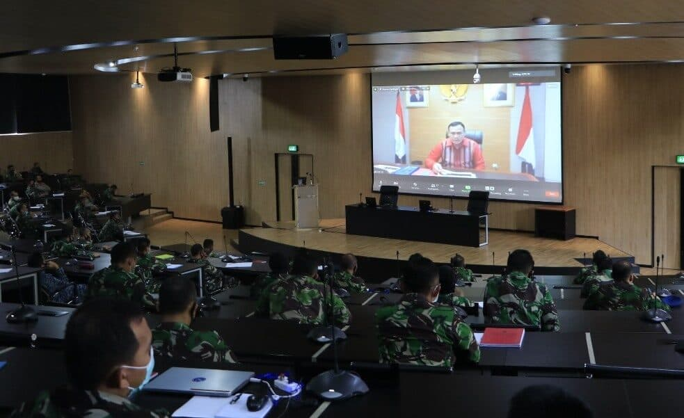 Ketua KPK Berikan Pembekalan Kepada Pasis Seskoau A-57