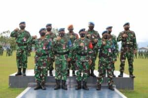 Danlanud Sim, Kukuhkan dan Sematkan Badge Babinpotdirga kepada 3 Personel