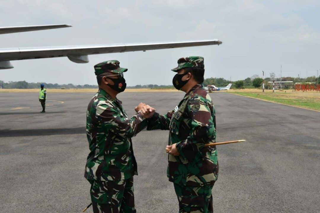Pangkoopsau II Tinjau Latihan MOT dan GFAC di Lanud Iswahjudi