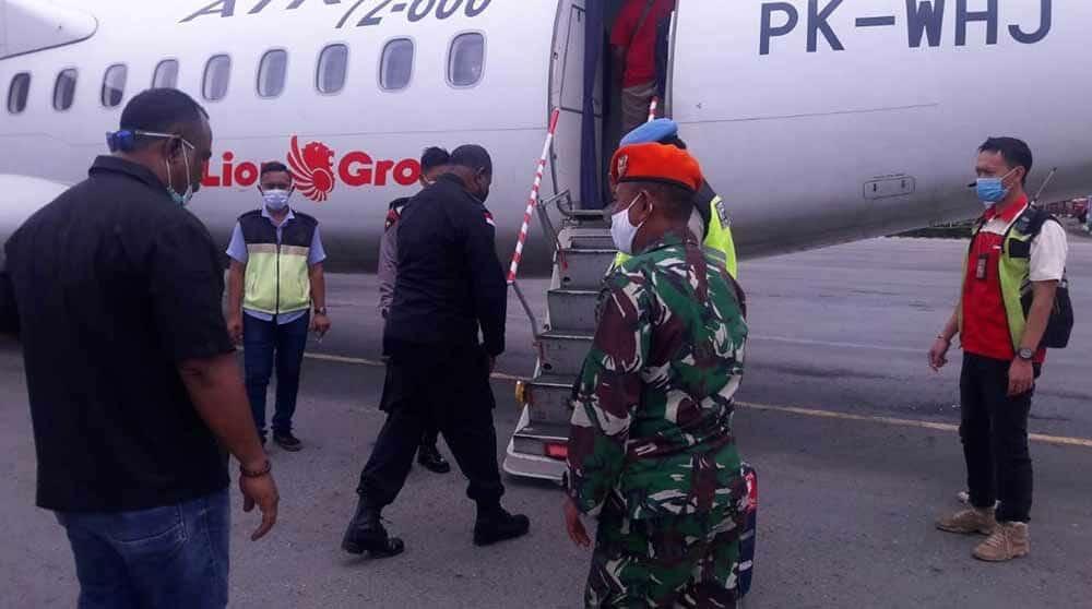 Peran Serta Satgas Paskhas Pamrahwan Papua Dalam Penindakan Terhadap Kurir Pembelian Senjata