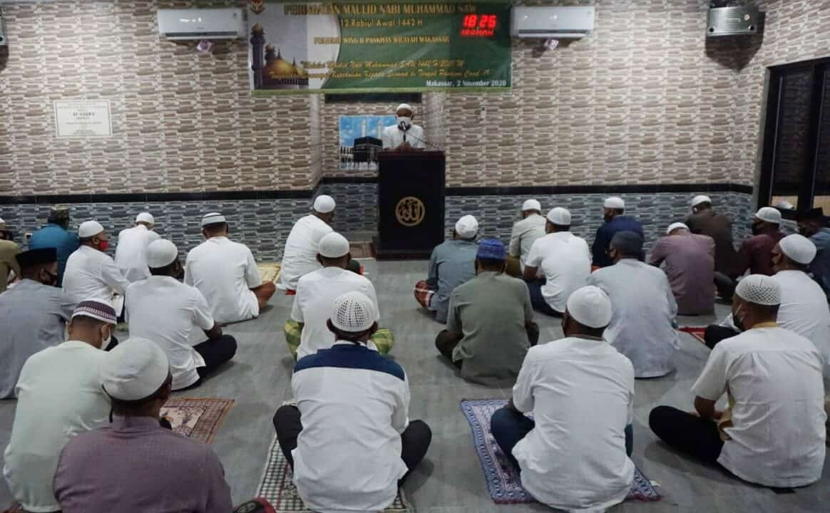 Peringatan Maulid Nabi SAW di Mushola At-Taqwa Yonko 466 Paskhas