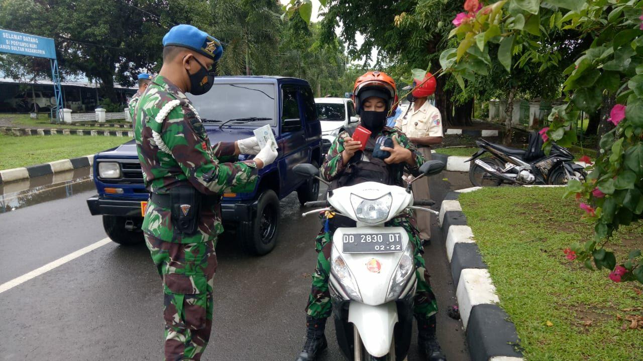 Satpomau Lanud Sultan Hasanuddin Gelar Operasi Gaktib