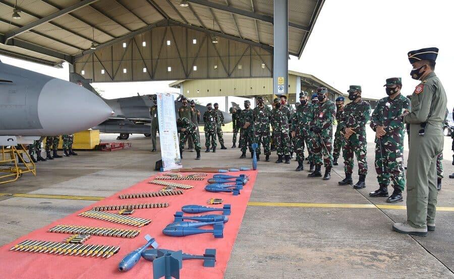 Pangkogabwilhan I Sambangi Skadron Udara Dijajaran Lanud Supadio