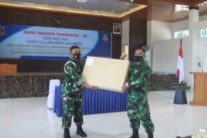 Primkopau Lanud Sultan Hasanuddin Laksanakan RAT XL Tahun Buku 2019