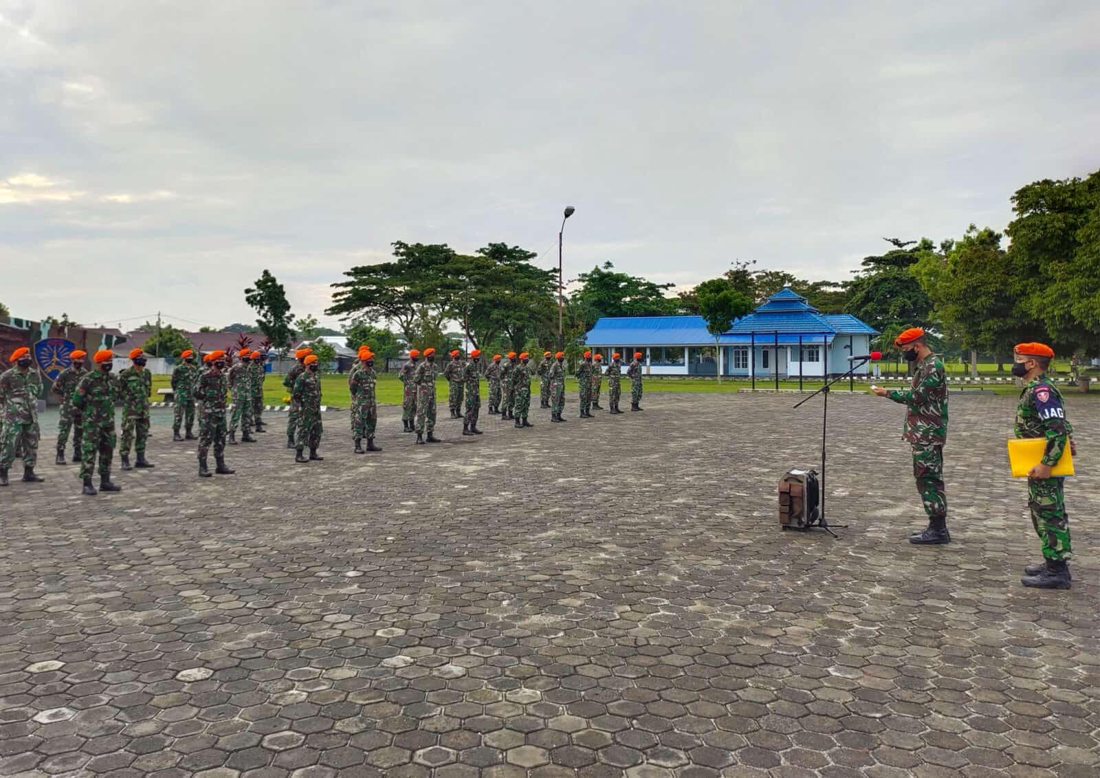 Batalyon Komando 462 Paskhas Peringati Hari Pahlawan
