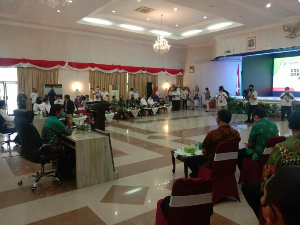 Lanud Rsn Hadiri pertemuan Bersama Pertamina Guna Alih Kelola Wilayah Kerja Rokan