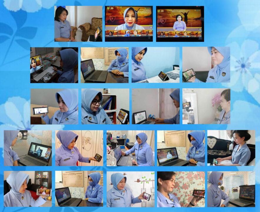 PIA AG Cabang 12/D.I Lanud Roesmin Nurjadin Mengikuti Webinar Kesehatan