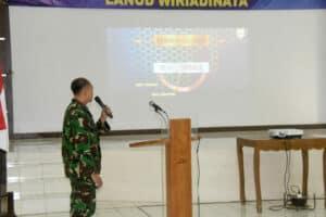Lanud Wiriadinata Terima Sosialisasi Sisbinlat TNI AU