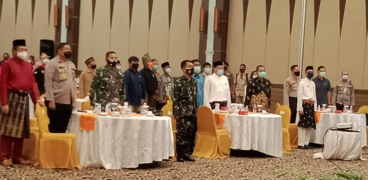 Danlanud Rsn Hadiri Deklarasi Melayu Bersaudare Suksesnya Pilkada 2020