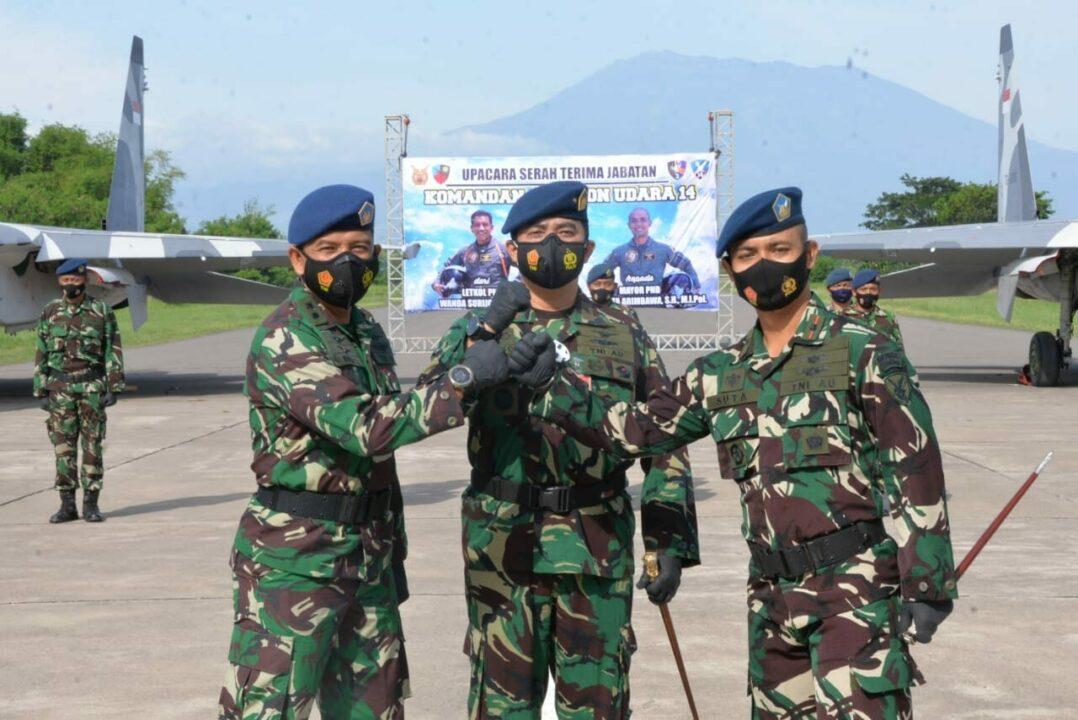 Mayor Pnb I Kadek Suta Arimbawa Resmi Jabat Danskadron 14