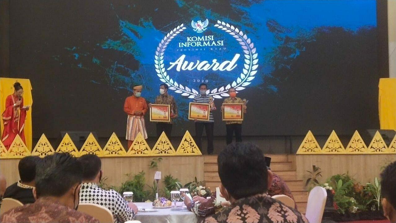 Lanud Rsn Hadiri KI Award 2020