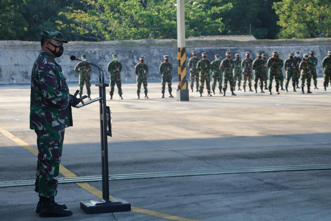 Danlanud Rsn: Menjadi Prajurit TNI Adalah Karunia Tuhan Yang Harus Dijaga Dan Disyukuri