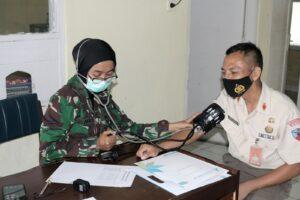Lanud Wiriadinata Laksanakan Rikkes Dan Rapid Test Massal