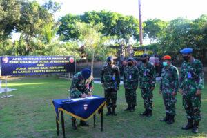 Apel Khusus dalam rangka pencanangan Pembangunan Zona Integritas di Lanud I Gusti Ngurah Rai