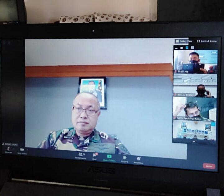 Aspers Kasau Apresiasi Pembekalan Rohaniawan TNI AU