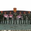 Danyonko 462 Paskhas Berikan Penghargaan Peraih Nilai Tertinggi Kesemaptaan Jasmani