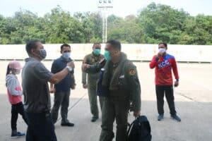 Usai Laksanakan Latihan MOT Skadron Udara 12 dan 16 kembali ke Homebase