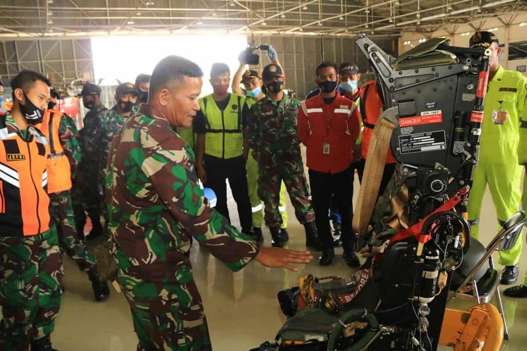 Lanud Abd Saleh Gelar Latihan Crash Team dan Airbag Jack Team Tahun 2020