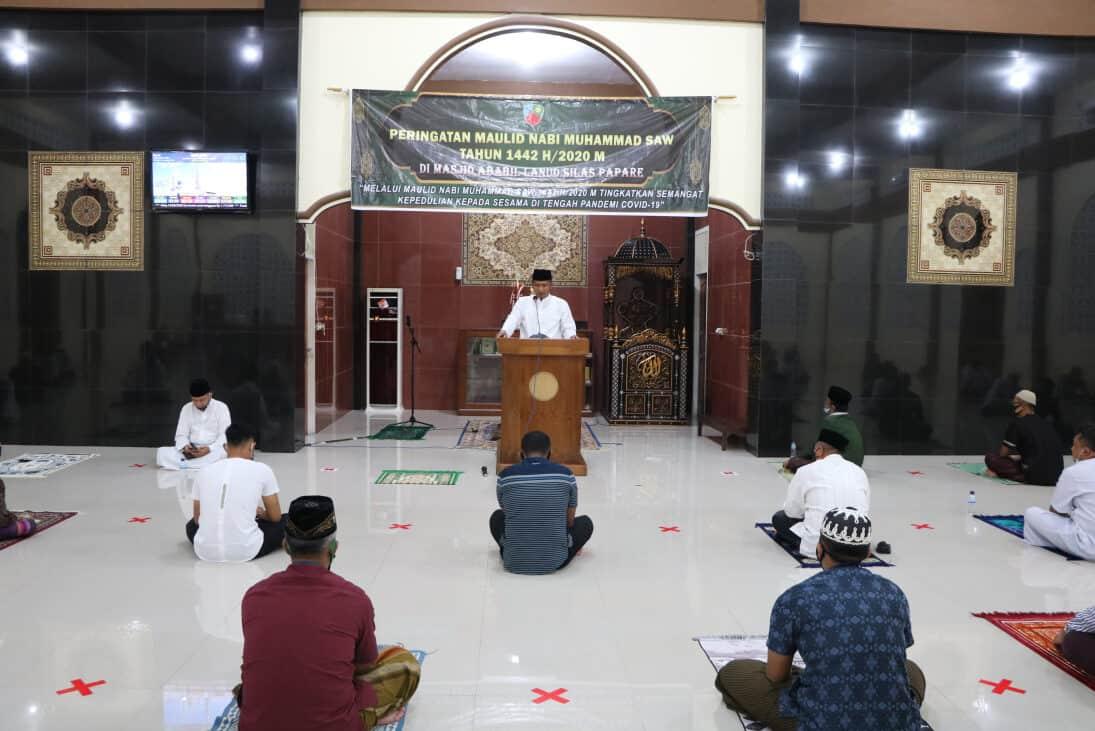 Lanud Silas Papare gelar Peringatan Maulid Nabi Muhammad SAW 1442 H