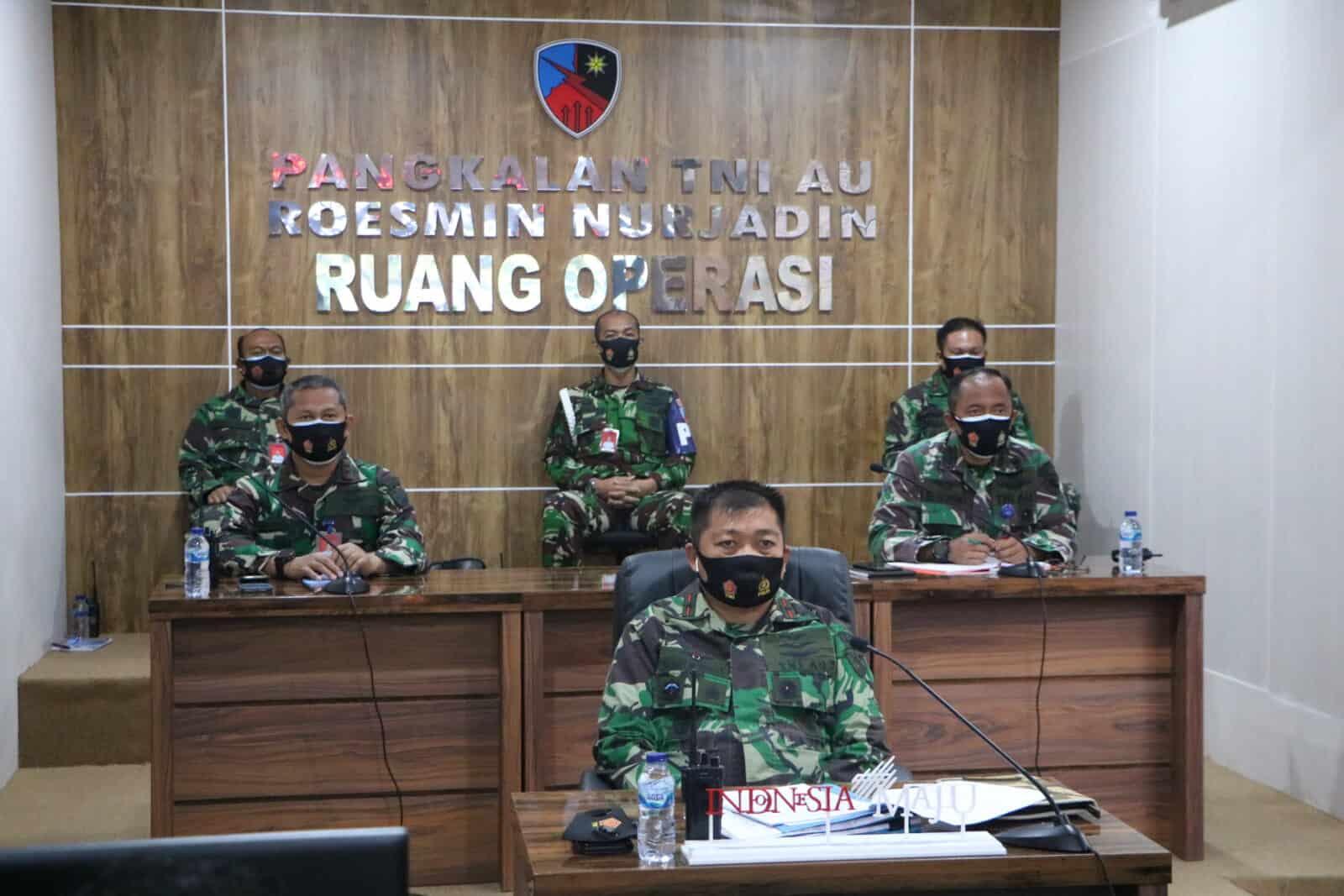Kasau Ajak Prajurit TNI AU Disiplin Protokol Kesehatan