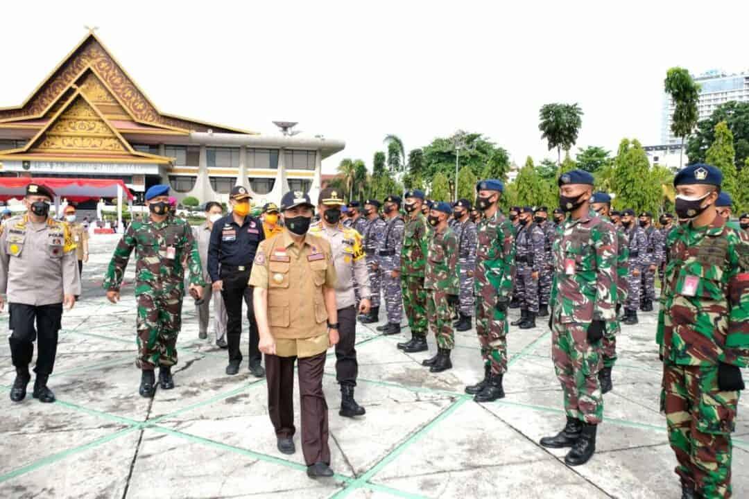 Lanud Rsn Apel Siaga Antisipasi Bencana Alam di Provinsi Riau
