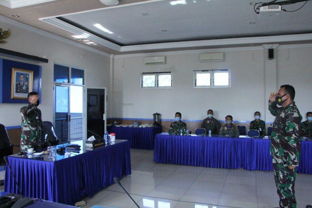 Rapat Kordinasi ToA/ToD dan UKP di Lanud Hnd