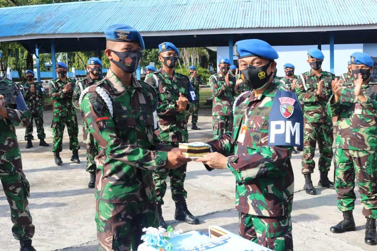Prajurit Pomau: Aparat Penegak Hukum yang Profesional, Tanggap, Terampil dan Waspada