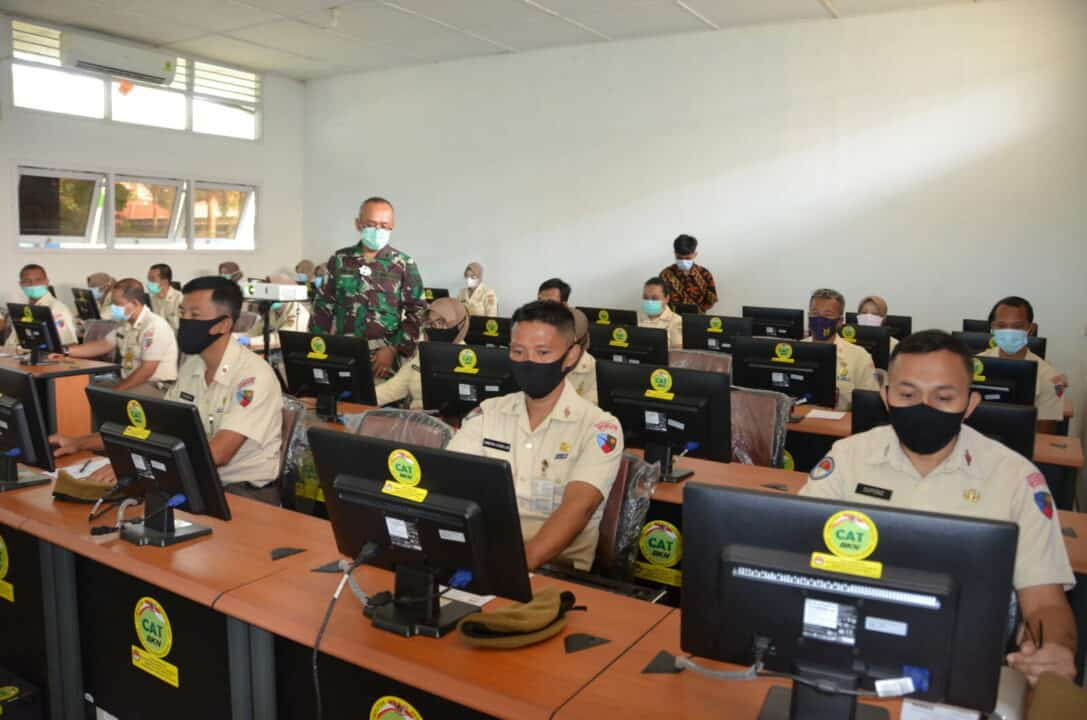 Sebanyak 62 PNS Jalani Ujian Dinas di Lanud Sulaiman